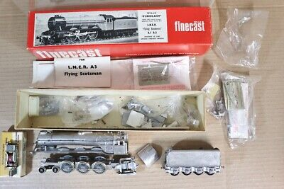 Wills Finecast F111 Kit Construit Lner Br 4-6-2 Classe A3 Loco Flying Scotsman • 92.83€