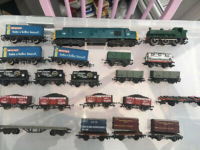 Hornby Train Freight Carriages Job Lot Plus Locomotive Gwr Intercity R751 • 39.15€