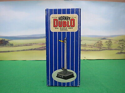 HORNBY DUBLO ED1 SEMAPHORE DISTANT SIGNAL Electrical Operation, Boxed. • 5.53€