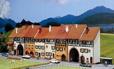 Faller Low Relief Houses (6) Building Kit II N Gauge 232380 • 63.95€