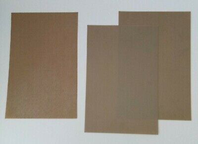 1 Stone Courses  & 2 Plank  EMBOSSED PLASTIC CARDs 0.5mm Thick 3 Sheets A4 Size • 7.31€