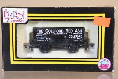 DAPOL COLEFORD RED ASH GLOUCESTER 7 PLANK WAGON 6 LIMITED EDITION Ny • 21.94€