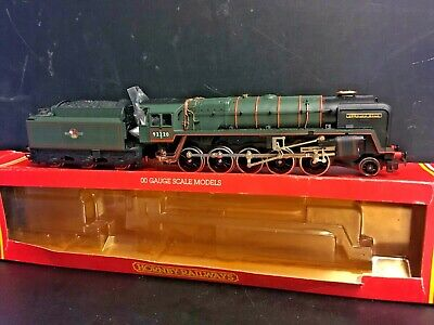 Hornby R373 BR Class 9F 2-10-0 Locomotive,92220 Evening Star, BR Green VGC Boxed • 44.90€
