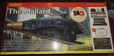 Hornby Boxed The Mallard R1040 00 Gauge Electric Train Set, Fully Working Set • 158.67€