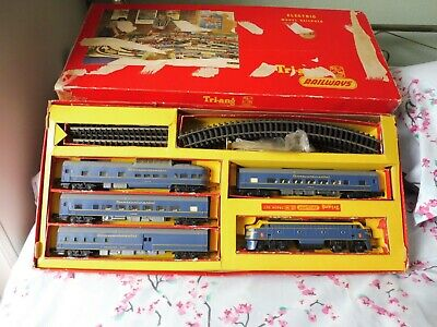 Triang (Hornby Type) Intercontinental Train Set  (Boxed) Ref RS.34 • 90.67€