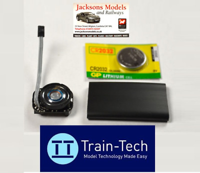 Train-Tech SFX10 Steam Sound Capsule - Coaling, Gear & Whistle Sounds • 50.84€