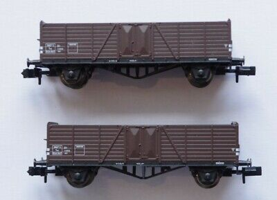 Arnold 2 Wagons Sncf Tombereaux 2 Essieux Ommr Ech. N Reference 24010 • 49€
