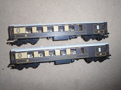 Pair Of Pullman Coaches For Hornby OO Gauge Train Sets • 8.66€
