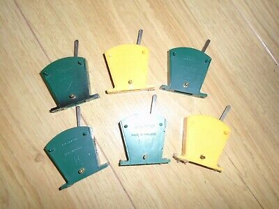 Collection Of Lever Switches For Model Railway Train Sets • 1.11€