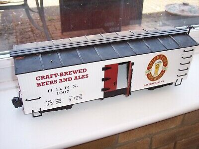 Bachmann G Scale Model Railway Box Wagon 'bricktown Brewery'  (rolling Stock) • 21.59€