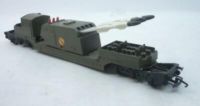 TRIANG 00 Gauge BATTLESPACE 4 MISSILE LAUNCHER WAGON -  R343,                  Q • 22.72€