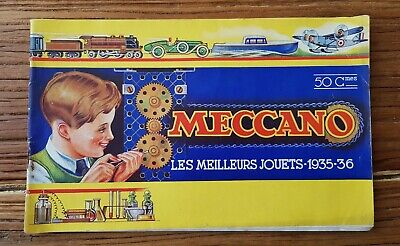 Très Beau Catalogue Meccano Hornby Dinky Toys 1935-36  • 1€