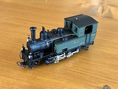 "Bemo H0m Metal Collection RhB 1 Steam Locomotive ""Rhätia"", New • 710.72€"