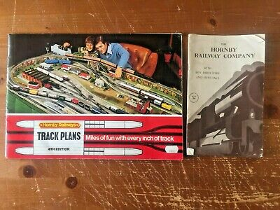 Hornby Railway Company With Boy Directors & Officials Dec '52 4th Ed Track Plan  • 7.60€