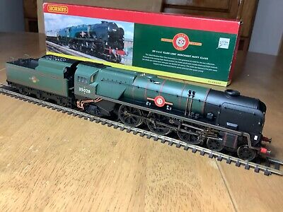 Hornby R2169 BR 4-6-2 Merchant Navy Class Loco 35028 Clan Line Dcc Fitted • 125.73€