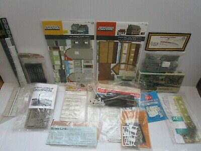 A Collection Of Superquick Airfix Dapol Peco Ect 00 Gauge Kits Most Unused  • 14.06€