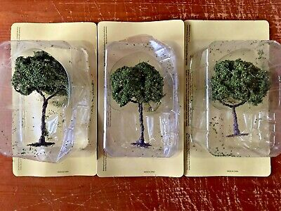 Hachette Oo Large Yew Trees (3) - New Boxed • 10.13€