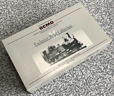 """Bemo H0m Exclusive Metal Collection RhB G3/4 Steam Locomotive 8 """"Thusis"""", New • 734.27€"""