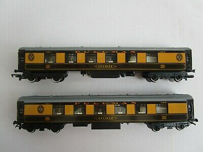 Two Tri-ang Hornby Pullman Coaches ' Lucille ' 00 Gauge Excellent Unboxed  • 21.34€