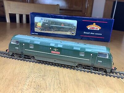 Bachmann 32-058 BR Green Class 42 Warship Diesel Loco D820 Grenville Weathered • 67.38€