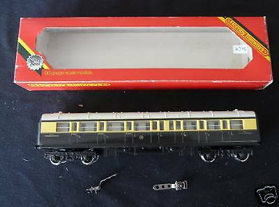 H376 Hornby Ho Train Wagon R429 Gwr Coach 57 Composite • 17.99€