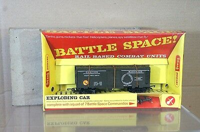 TRIANG HORNBY R249 BATTLE SPACE EXPLODING CAR WAGON SEALED TRAY MIB Pv • 162.51€