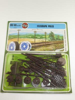 AIRFIX HO/OO MODEL RAILWAY KIT Telegraph Poles Unmade & Sealed In Type 4 Blister • 11.39€