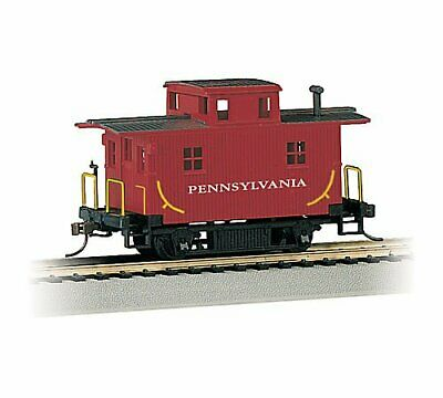 Bachmann 18414 - Bobber Caboose Pennsylvania H0 Gauge New Boxed - Tracked 48 • 19.50€
