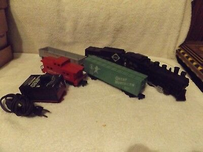 Vintage Trains--american Flyer #22033 Gilbert Train Set--no Track--great Patine • 120.53€
