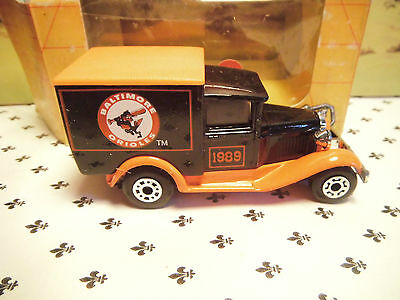 Matchbox Model MB38 BALTIMORE 1989 Brown Van Orange   Roof OO ? Scale • 5.64€