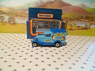 Matchbox Model MB38 The GANG MB38 Club 1989 Blue   Van  Black   Roof  OO ? Scale • 5.53€