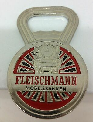 Vintage Fleischmann Bottle Opener Mint Condition Chromed Brass - Excellent • 18.58€
