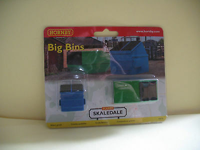 Hornby Skaledale R8755  Big  Bins     00  Scale • 6.61€