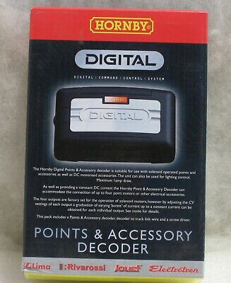Hornby R8247 Dcc Points & Accessory Decoder New • 44.21€