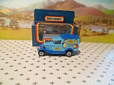 Matchbox Model MB38 The GANG MB38 Club 1989 Blue   Van  Black   Roof  OO ? Scale • 5.38€