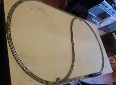 Hornby Dublo Oval Of 3 Rail Track. Clean, Tested, All Good. • 24.74€