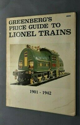 Nb Livre Greenberg's Price Guide To Lionel Trains 1901 1942       1979  • 20€