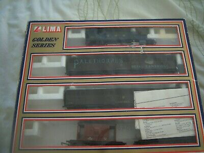 LIMA  MODEL No.14 9736G GWR GOODS TRAIN PACK LOCO TESTED ALL OK • 48.17€