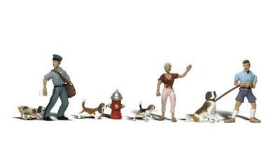 A2768 Personnages Police Chiens 4 Cm Woodland Scenics Ech 0  • 30€