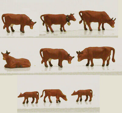1351 Vaches Marron Model Power Train N 1/160eme  • 16€