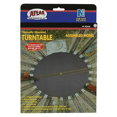 2790 Plaque Tournante Manuelle Rail Train ATLAS N 1/160 • 54€
