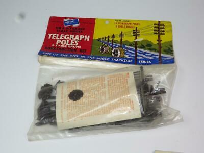 AIRFIX OO/HO MODEL RAILWAY KIT Telegraph Poles Unmade Bagged Rare Type 1 Header • 15.63€