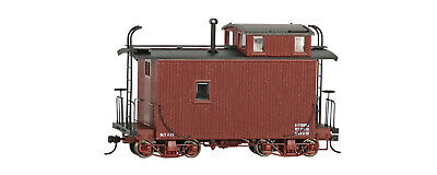 26566 WAGON Caboose Marron Bachmann Spectrum Train On30 • 82€
