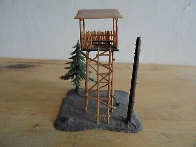 Building Built For Display  Oo/ho Scale   Watch Tower & Picnic Set • 14.51€