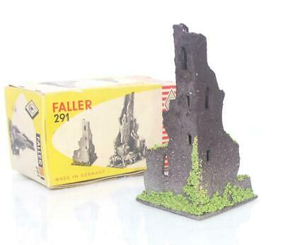Early Boxed Vintage Wood Faller 291 - Ho/oo - Old Castle Tower Ruin   • 48.64€