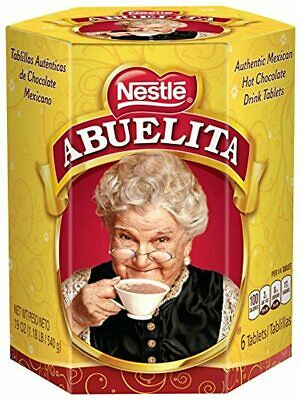 Nestle Mexican Chocolate Abuelita Drink Mix, 6 Tabs In 19 Ounce Package By Abuel • 29.99€