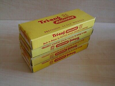 Tri-ang TT -  4 X T161 Boxes For RH Hand Op Mk2 Points • 11.09€