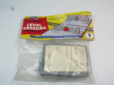 AIRFIX OO/HO Scale Model Railway Kit LEVEL CROSSING Bagged Rare Type 1 Header • 13.49€