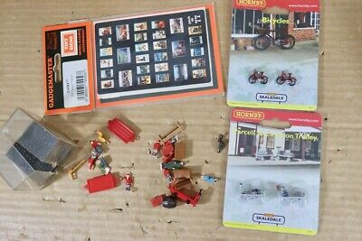 Hornby Gaugemaster Mérite Bycyles Chariot People Station Accessoires NT • 40.15€