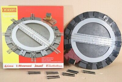 HORNBY R070 ELECTRICALLY OPERATED TURNTABLE BOXED Nw • 53.81€